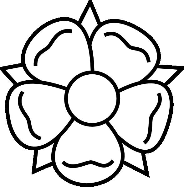 Flower Tattoo Clip Art At Clker Com