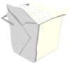 Take Out Box Simple Clip Art
