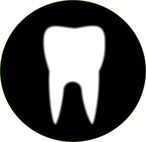 Black Tooth Clip Art