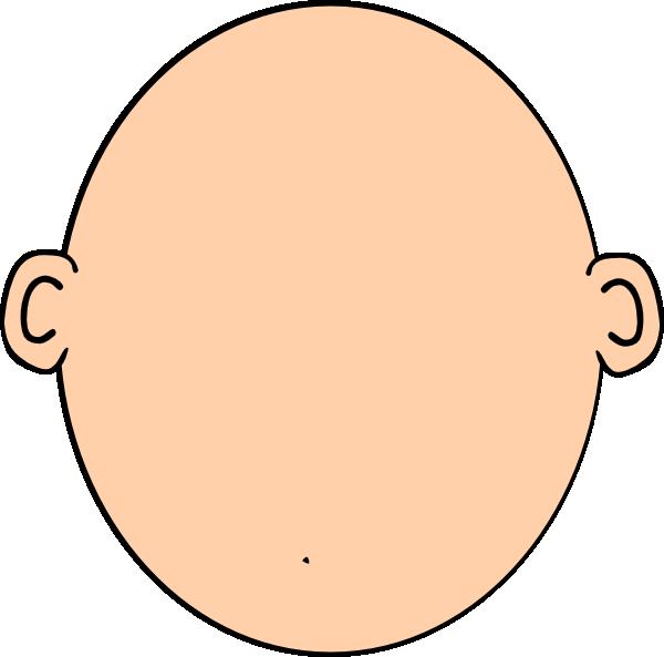 Clipart Blank Head