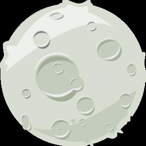 Moon Luna Lua Clip Art at Clker.com - vector clip art online, royalty ...