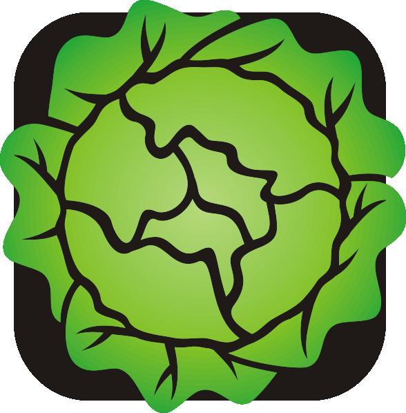 lettuce clip art at clker com vector clip art online royalty free rh clker com clipart lettuce leaf clipart lettuce leaf