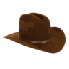 Cowboy Hat Final Clip Art