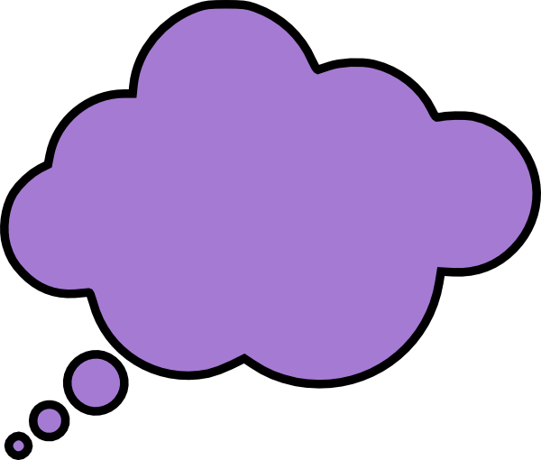Thought Bubble Clip Art at Clker.com - vector clip art ...