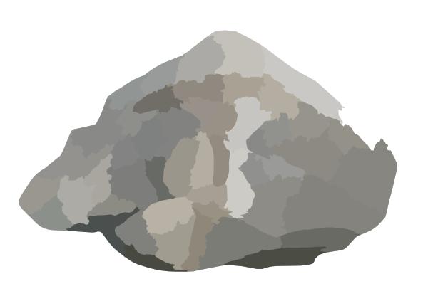 Triangular Rock Clip Art At Clker Com Vector Clip Art