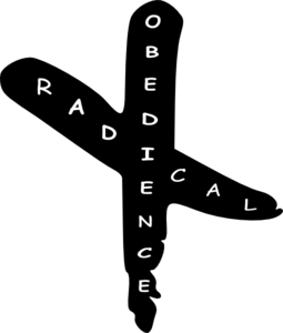 Radical Obedience Cross Revised Clip Art