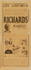 Richards, The World S Greatest Magician And His Big Company The Biggest Stage Show Of The Entire Season. Clip Art