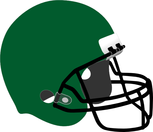 green football helmet clip art at clker com vector clip art online rh clker com football helmets clipart clipart football helmet outline