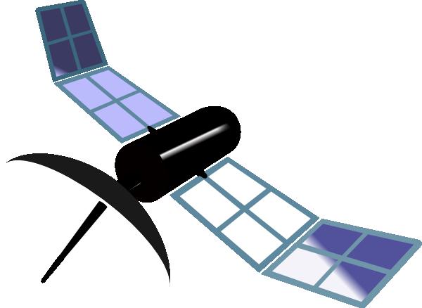 Gps Satellite Cartoon Satellite clip art - vector
