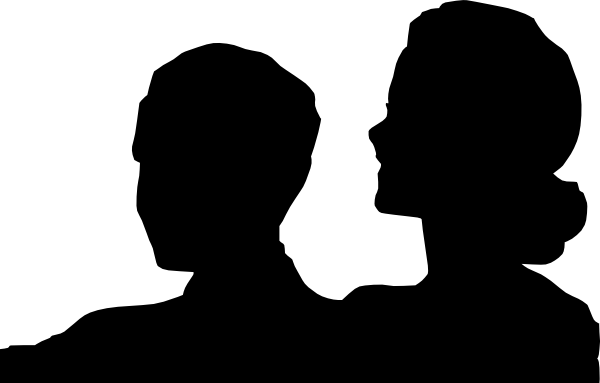 Image result for mother and son silhouette