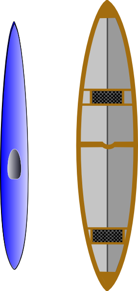 clipart of a kayak - photo #40
