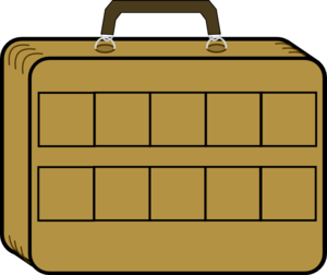 Maths Suitcase Clip Art