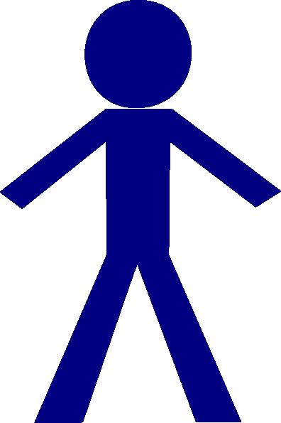 Stick Figure Clip Art at Clker.com - vector clip art online, royalty ...
