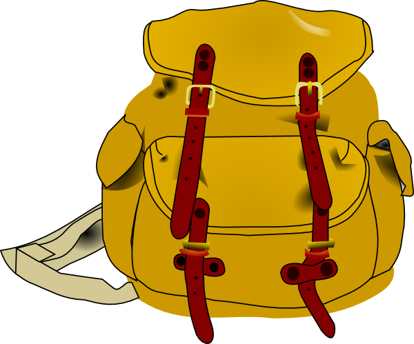clipart rucksack - photo #3