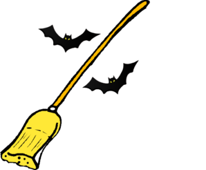 Witch S Broom2 Clip Art