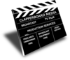Clapperboard Media Clip Art