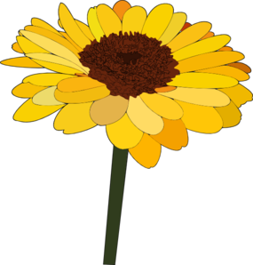 Sunflower Clip Art