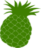 Green Pineapple Clip Art