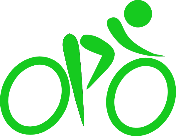 Family Biking Clipart