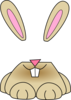 Cute Bunny Mine Clip Art