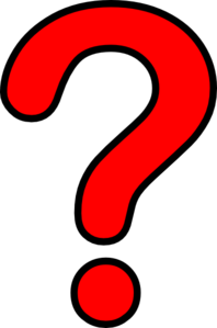 Question Mark Red Clip Art at Clker.com - vector clip art ...