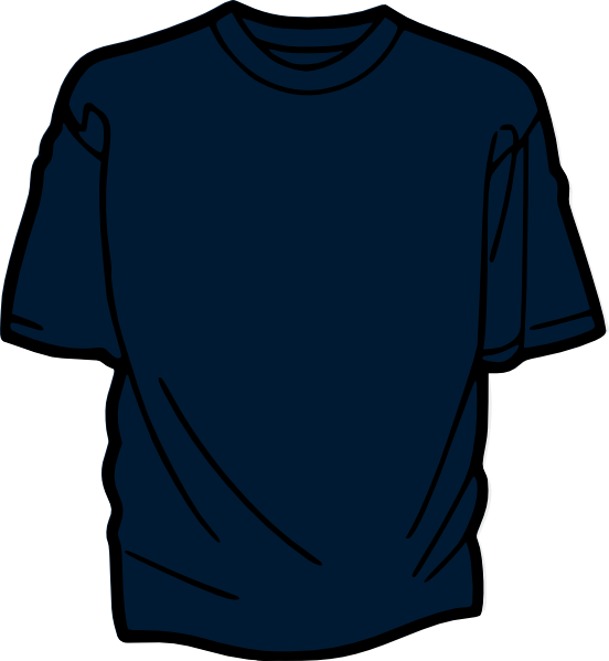 t shirt shape clipart - photo #41