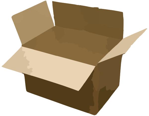 Moving Box Clip Art at Clker.com - vector clip art online ...