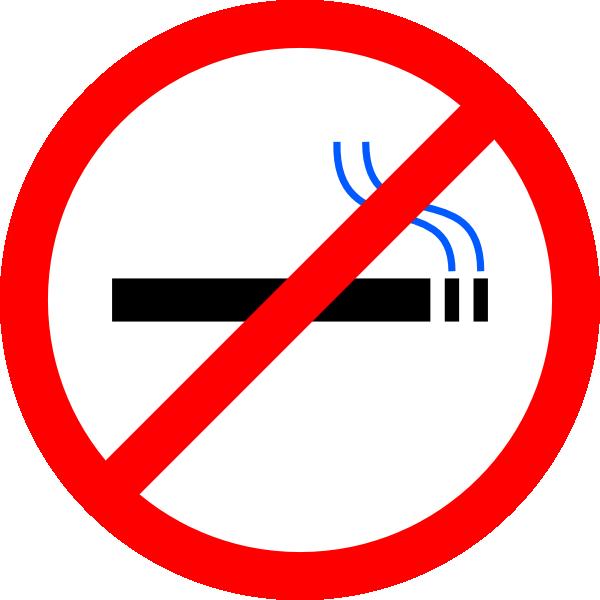 free clipart no smoking symbol - photo #3