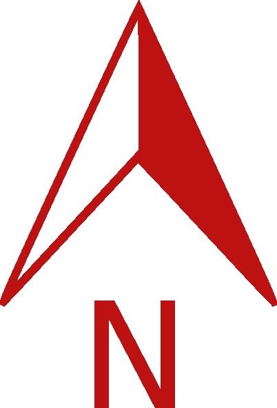 red north arrow clip art at clker com vector clip art online rh clker com north arrow vector free north arrow vector free