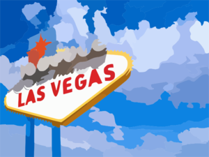 Welcome To Las Vegas Wide Clip Art