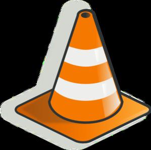 Traffic Cone Cartoon Traffic Cone 2 Clip Art at Clker.com - vector clip art online, royalty ...