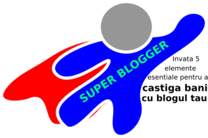 Super Blogger Clip Art