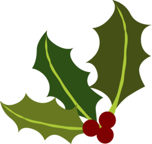 holly leaf corner clip art at clker com vector clip art online rh clker com holly clip art border holly clipart black and white