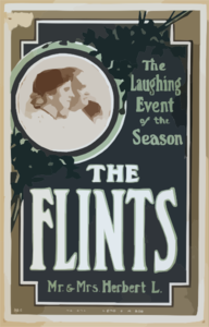 Flints, Mr. & Mrs. Herbert L. The Laughing Event Of The Season. Clip Art