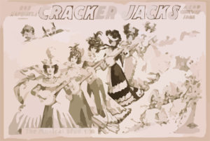 Bob Manchester S The Cracker Jacks A 20th Century Idea. Clip Art