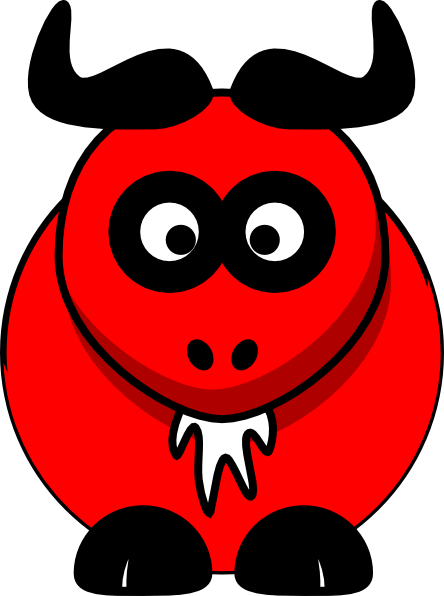 Clip Art Ox Clipart red ox clip art at clker com vector online royalty download this image as