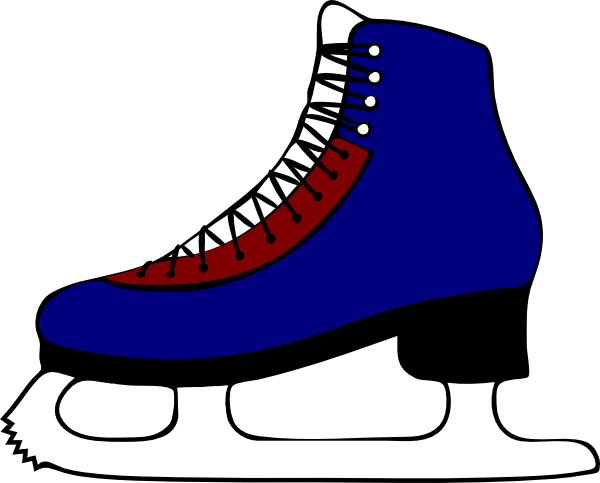 ice skating clip art at clker com vector clip art online royalty rh clker com