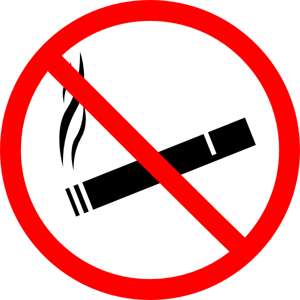 No Smoke Clip A... Clip Art No Smoking