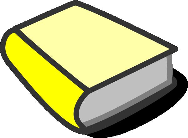 yellow book reading clip art at clker com vector clip art online rh clker com book clipart image book clip art images