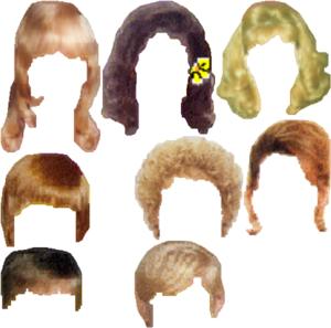 Hair Style Clip Art - Best Haircuts 2017