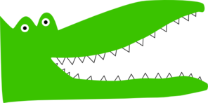 Alligator Teeth Clip Art