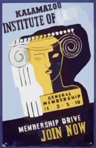 Kalamazoo Institute Of Arts - Membership Drive - Join Now Clip Art