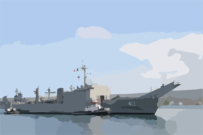 Mexican Navy Ship Usumacinta (a-412), Formerly Uss Frederick (lst-1184), Arrives In Pearl Harbor For A 10-day Port Visit. Clip Art