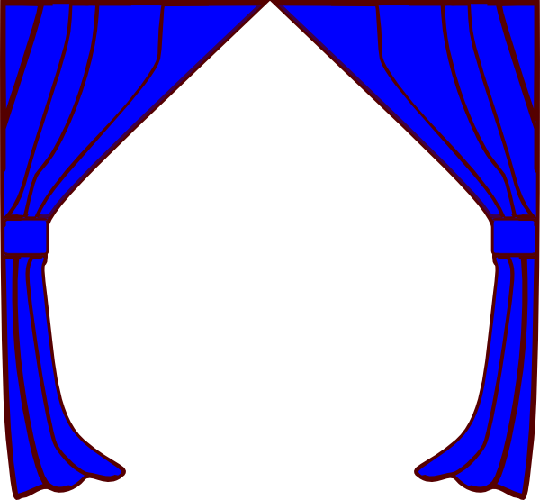 Image Result For Blue Theatre Curtains Png