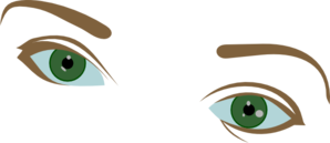 Eyes And Eyebrows Clip Art
