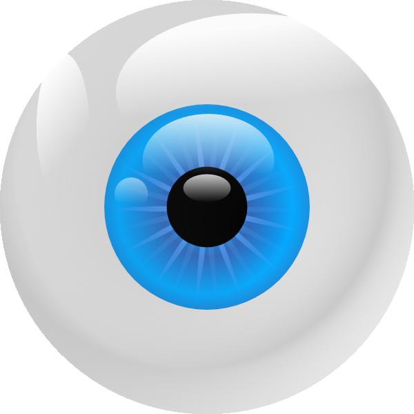 eyeball clip art at clker com vector clip art online royalty free rh clker com eyeball clip art free eyeball clipart halloween