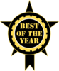 Best Of The Year Sticker Clip Art