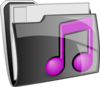 Music Folder Icon Clip Art