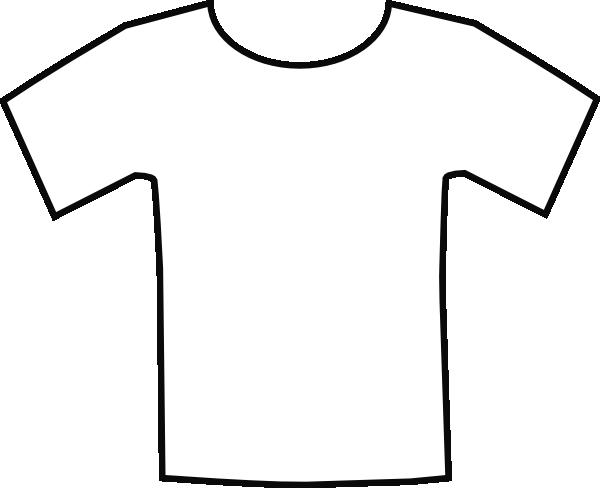 clipart white t shirt - photo #28