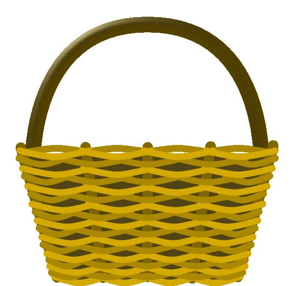 Basket Clip Art : Picnic basket clip art at clker vector